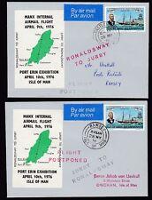 Elizabeth II (1952-Now) Aviation Manx Regional Stamp Issues