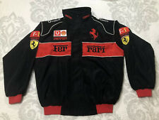 Formula 1 Ferrari Vodafone jacket youth size XXL / adult small Sewn Stitched F-1