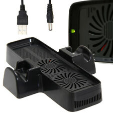 Cooling Cooler Fan with Dual Dock Stand Bracket for XBOX 360 Game Controller UK