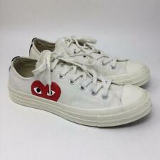 Converse Comme des Garcons Play Peekaboo Heart Sneakers Mens 6 Womens 8