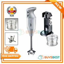 Bamix Deluxe Hand Held Food Processor 180 W Blender White 101221