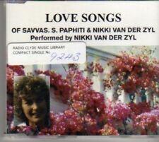 (BF300) Love Songs Of Savvas.S.Paphiti & Nikki..- DJ CD