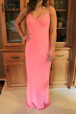 STUNNING Cache Pink Formal Prom Bridesmaid Homecoming Dress Gown Size 6