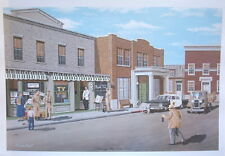 The Andy Griffith Show Limited Edition Mayberry Print