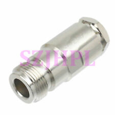 1pce Connector N female jack pin clamp RG8 RG213 RG165 LMR400 7D-FB cable