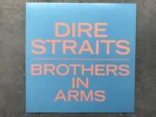 Dire Straits Brothers In Arms RARE promo 12 x 12 poster flat '85