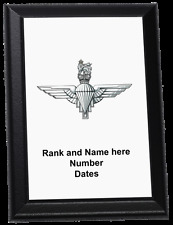 Personalised Wall Plaque - The Parachute Regiment