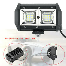 "2PCS 5"" LED Work Light Bar Spot Flood Beam OffRoad Fog Driving Reverse Waterroof"