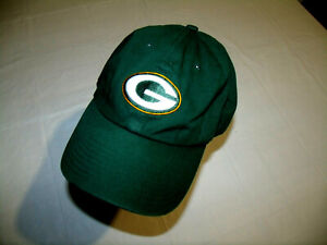 Green Bay Packers '47 brand Low Profile Green Slouch Hat 100% Cotton Adjustable