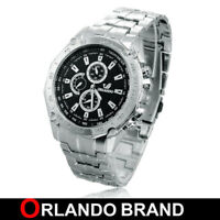CS UOMO COLLECTION DA OROLOGIO POLSO ORLANDO NAUTICA-MARE ACCIAIO WATCH de