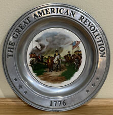 The Great American Revolution 1776 Silver Plate