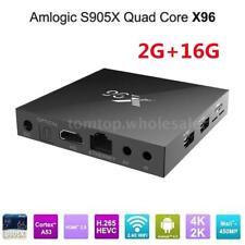 X96 Amlogic S905X Android 6.0 Smart TV BOX A53 Quad-core 2GB+16GB WiFi 4K Media