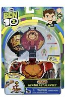 NEW Ben 10 Micro Heatblast Playset 2-IN-1 Omnitrix CN Playmates Toy NIB