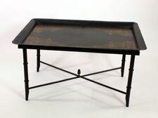 Mesas de color principal negro de hierro para el hogar