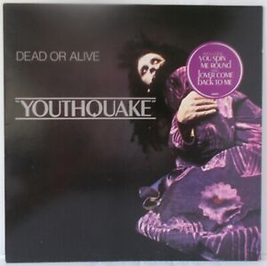 Dead or Alive - Youthquake (EX) 1985 LP