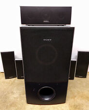 SONY SPEAKER SYSTEM  SURROUND SOUND SS-CT71 SS-TS71 SS-TS72 SS-WS74