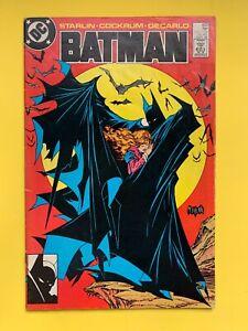 BATMAN #423 - Todd McFarlane cover, 1988 DC Comics Direct edition FIRST PRINT