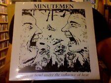 "Minutemen Buzz Or Howl Under the Influence of Heat 12"" EP sealed vinyl RE"