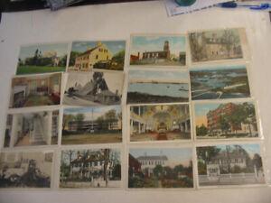 25 Older Portsmoth, New Hampshire Postcard Lot