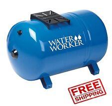 Water Pressure Tank Horizontal Well 20 Gal Bladder Air Pre Charged Pump Steel