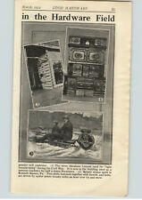 1922 PAPER AD 2 PG Smith Motor wheel Motorized Snow Sled Motorcycle Wheel 20 MPH
