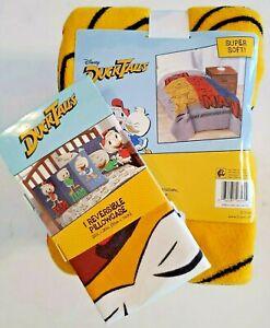 Disney DuckTales Plush Twin Throw Blanket & Pillowcase