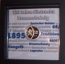 EINTRACHT BRAUNSCHWEIG RARITÄT - Medaille 120 Jahre ZUM ERSTAUSGABEPREIS