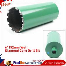 6 Premium Wet Diamond Core Drill Bit Core Bore Can Concrete Hard Material