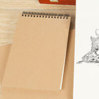 A5 Craft Paper Sketch Book Set For Watercolor Drawing Art Sketchbook 30-Sheets