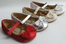 NEW Girls Little Angel Britt796 WEDDING PAGEANT Faux Leather Lace Flats Shoes