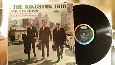 the Kingston Trio Back in Town Capital T 2081 mono