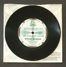 """STEVIE WONDER - 'I Just To Called To Day I Love You' 7"""" Vinyl Single Record"""