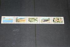 NORFOLK ISLAND 1980 PHILIP ISLAND STRIP OF 5  FINE  M/N/H COND