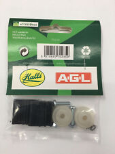 Eden Halls Greenhouse Door Wheel replacement kits - 22mm