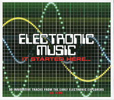 ELECTRONIC MUSIC IT STARTED HERE... 2 CD BOX SET - RAY VATHODE & MORE