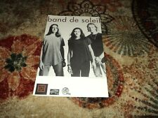 """Band De Soleil (Michelle Malone) """"Redemption Dream"""" US Promo Only Poster"""