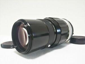 Near Mint NIKON AI NIKKOR-QC 200mm f/4 MF SLR Lens From JAPAN #777