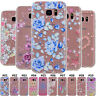 For Samsung Galaxy Clear Rubber Fashion Slim Back Soft TPU Silicone Case Cover