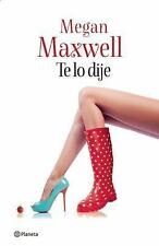 Te lo dije (Spanish Edition)-ExLibrary