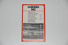 Märklin H0 Original Description pour Lignes aériennes rouge