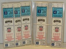 New ListingCandlestick Park 1987 National league Championship Games 3, 4, & 5 Tickets stubs