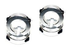 """4) Silver 1 1/4"""" Axle Lock Collar 1.25 Clamp Collars Mini-Bike Go Kart Racing"""