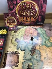 The Lord Of The Rings Risk from Parker 1 Red Dice Missing. Good Condition