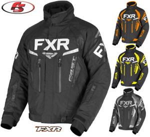 2021 FXR Men's Team FX Snowmobile Jacket Black/Hi-Vis/Orange/Ti M L XL 2XL 3XL