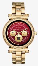 Michael Kors Sofie Pavé Gold tone Touchscreen Smartwatch - MKT5023