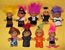Lot of 9 Vintage Troll Dolls Russ Ace Novelty