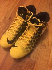 NIKE FIELD GENERAL PRO TD VARSITY MAIZE MENS 10 WHT BLK YELLOW CLEAT 833386-710
