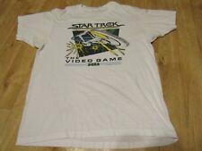 Vintage Star Trek the video game Sega shirt 1980s 80s