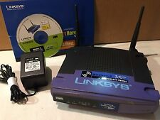 Linksys Wireless B-Broadband 2.4 GHz Router 802.11b Model No BEFW11S4 Ver. 4