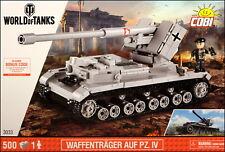 COBI Waffentrager Auf Pz. IV (3033) - 500 elem. - WWII German concept TD